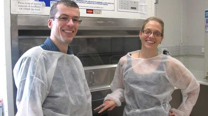CQUniversity researchers Jessica Browne and Professor Andrew Taylor-Robinson are forging ahead with what will be Queensland's only clinical study into middle ear infection (known as otitis media), with the aim of finding better therapies or to reduce the severity of the disease. Contributed