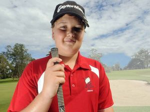 Christmas coming two days early for aspiring golfer