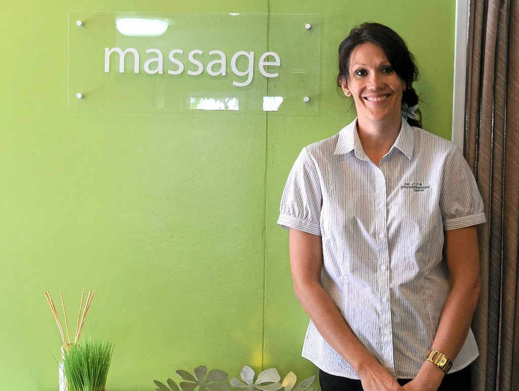 Fiona Taylor is the new massage therapist at The Physiotherapy Centre.