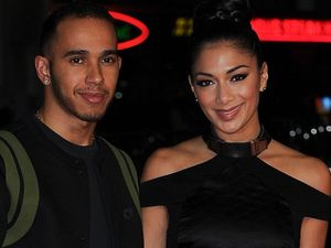 Nicole Scherzinger and Lewis Hamilton share Thanksgiving?