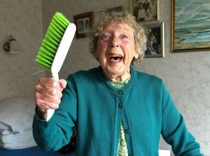 Sword attacker foiled by a plucky gran