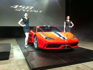 The Ferrari 458 Speciale
