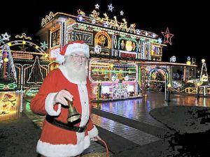 80,000 lights make a dazzling Christmas display at Ballina