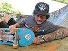 Skateboarder Brenton Hawkins.
