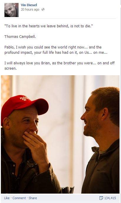 The Facebook Tribute