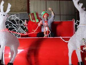 Ho, ho, ho! Santa is coming to City Hall tonight
