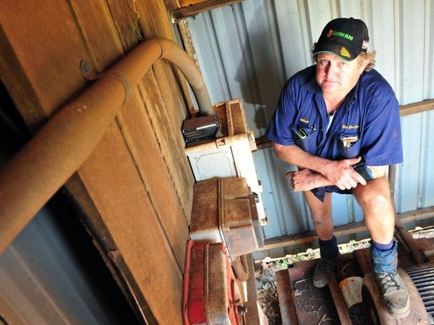 POWER HIKE: Canegrower Mark Pressler is unhappy at a possible 27% electricity price increase for irrigators. Photo: Max Fleet / NewsMail