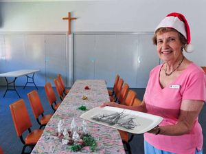 Traditional Christmas lunch offered at church