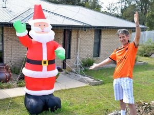 Gympie lights up for Christmas cheer competition