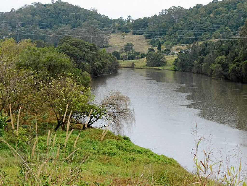 IMPROVING THE FLOW: The Wilsons River in Lismore behind the proposed Masters site in South Lismore.