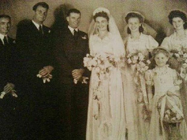 Ron and Edna Dingley were married in Monto on December 9, 1948.