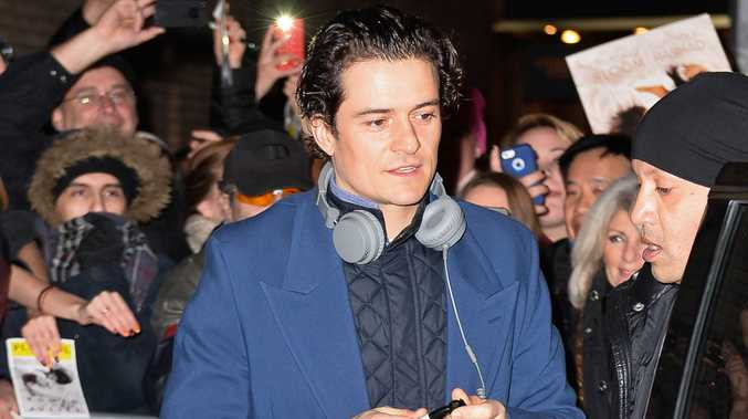 Orlando Bloom is still completely in love with the idea of love despite his recent split from his wife Miranda Kerr.