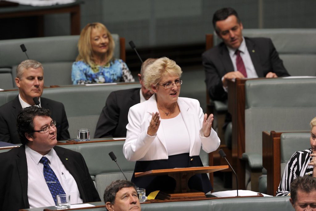 First speech, Michelle Landry MP,(QLD Capricornia Nat) House of Reps Parliament House Canberra 5 December 2013. Photo Contributed