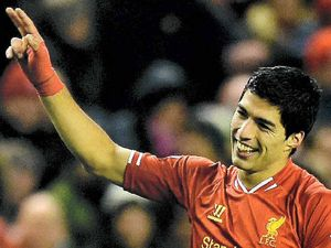 Fab four for Suarez as goals fly in