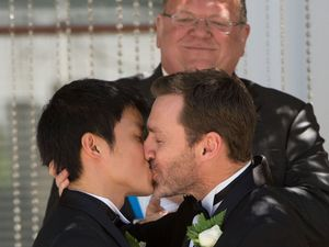 Same-Sex couple able to live in wedded-bliss: for now