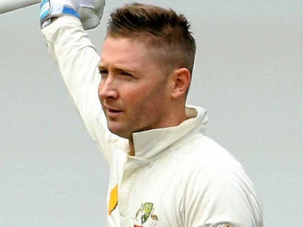CLARKE'S ADELAIDE LOVE AFFAIRHighest scores atthe Adelaide Oval 230 v South Africa (Nov 2012) 210 v India (Jan 2012) 148 v England (Dec 2013) 124 v England (Dec 2006) 118 v India (Jan 2008) 110 v New Zealand (Nov 2008)