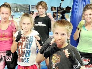Competition's hot for tiny Muay Thai competitor