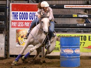 Junior rodeo star saddles up for her big American trip