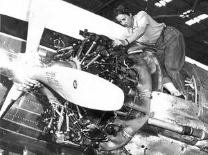 Aviation engineer a trailblazing woman