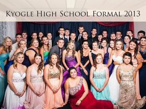 Kyogle High School formal.