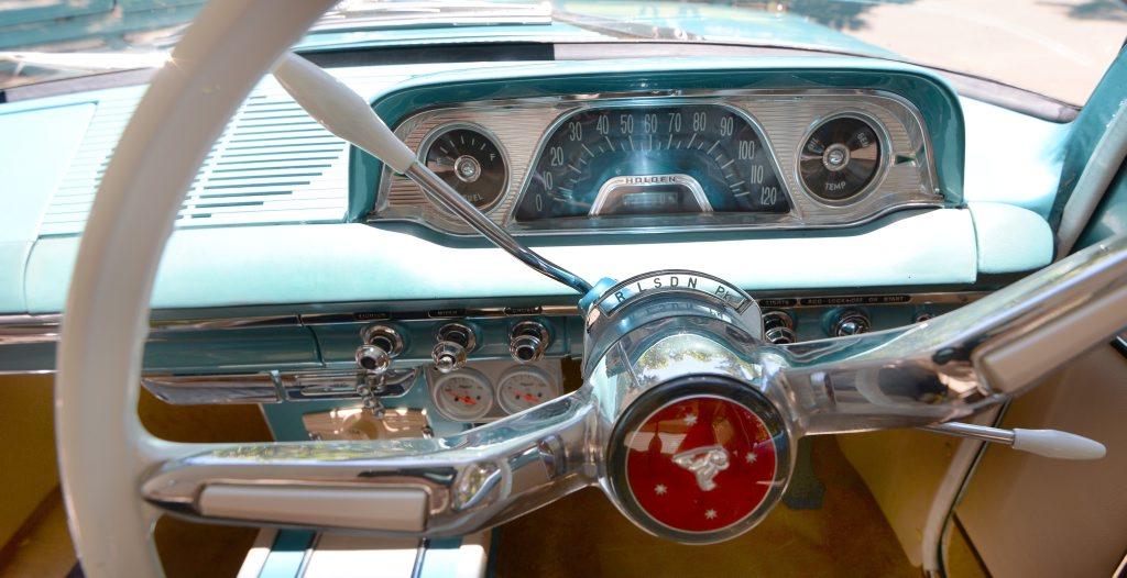 1964 EH Holden Premier - detail. Photo: Chris Ison / The Morning Bulletin
