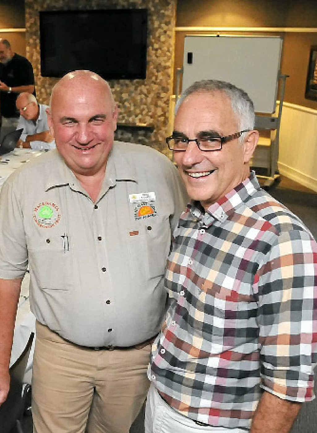 Brice Kaddatz and Jolyan Burnett say a new trade agreement is good news for growers.