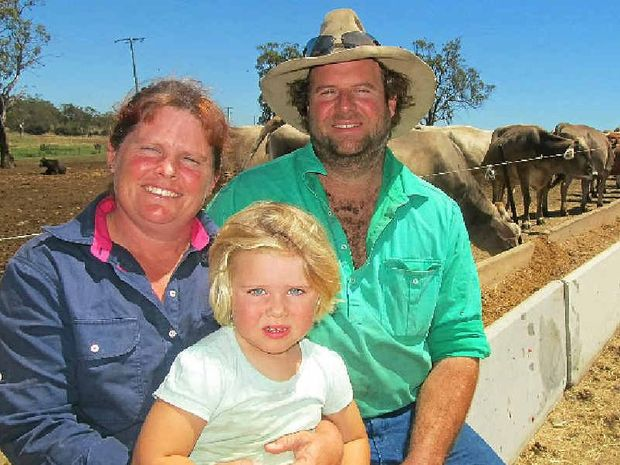 BRIGHT FUTURE: Nadine and Roger Blanch live on their home property, Red Gum, at Millbrook.