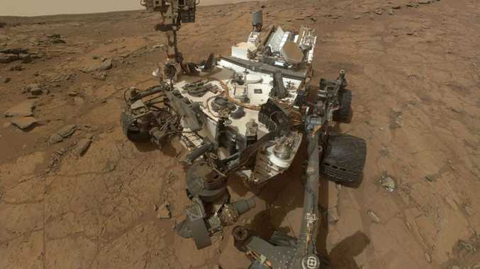 Studies carried out by Nasa's Curiosity Rover have for the first time revealed the existence of a type of sedimentary rock known as mudstone which is likely to have been created by a large body of standing water.