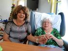 Joan Kelly and Elsa Marano at the opening of the Childers Multi-Purpose Health Service's residential aged care wing.