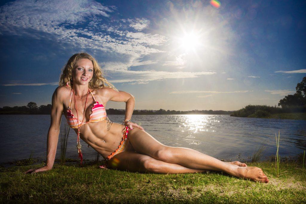 WINNING SMILE: Genesis Miss Coffs Coast winner Bec Heilers. Photo: Adam Hourigan/The Daily Examiner