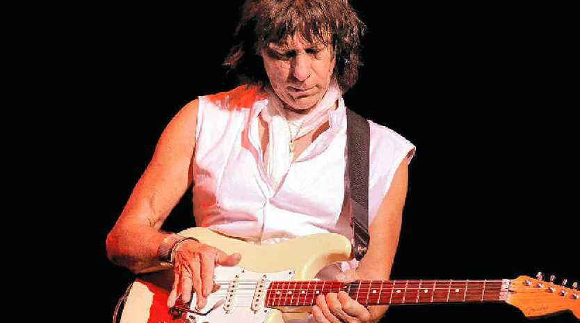 ROCK ROYALTY: Jeff Beck is on this year's Bluesfest line-up.