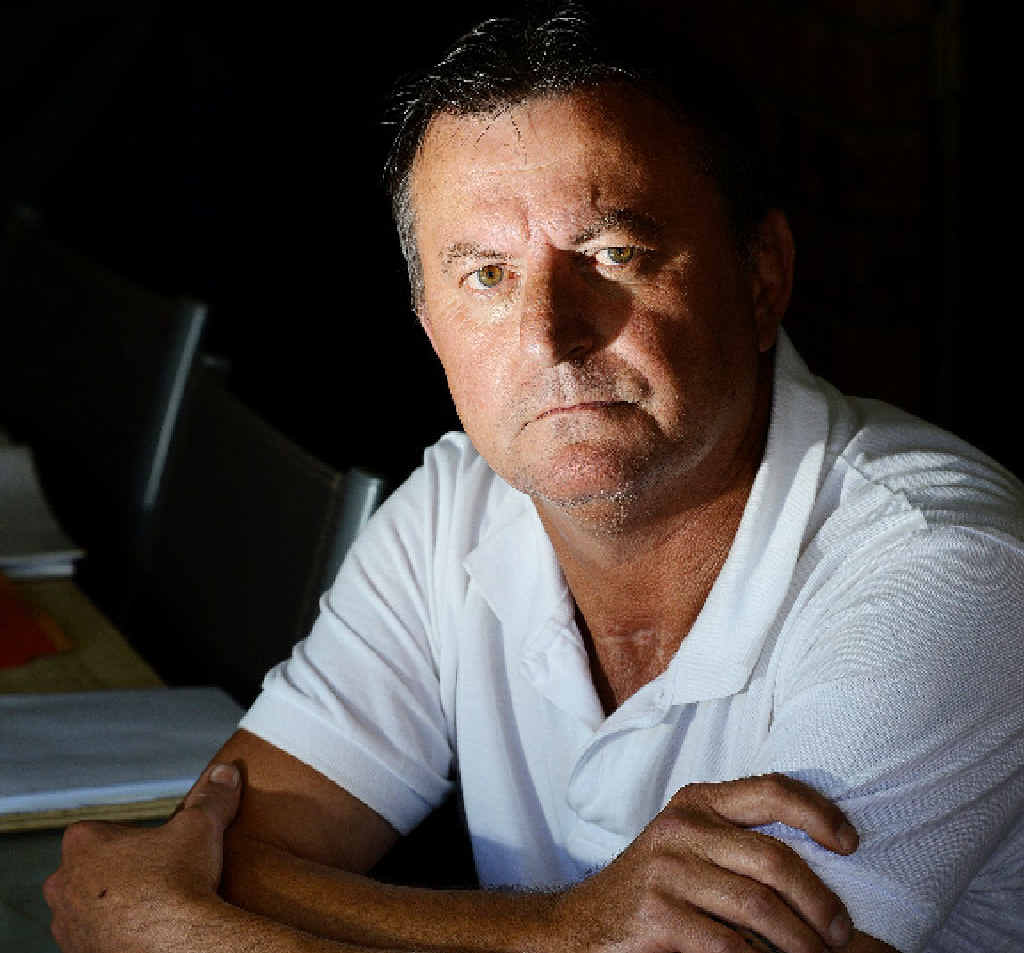 Graham Pearce of Goonellabah was king-hit on his driveway in April 2013. The attack left him in a coma and he was declared clinically dead twice. When he awoke seven weeks later he had to learn to walk again.