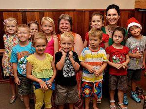 Parents, children, staff farewell Kookaburra's Steiner kindy