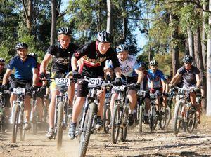 Mountain trail to test bike riders