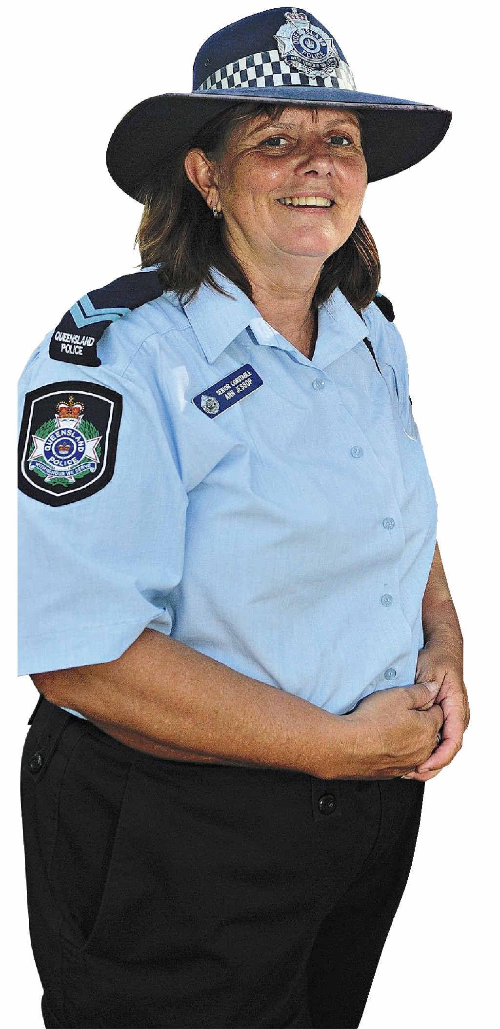 KOALA ACT: Senior Constable Ann Jessop is new to town.