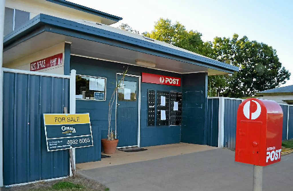BIG BLOW: The Bluff Post Office has been sold and closed, and town residents are not happy.