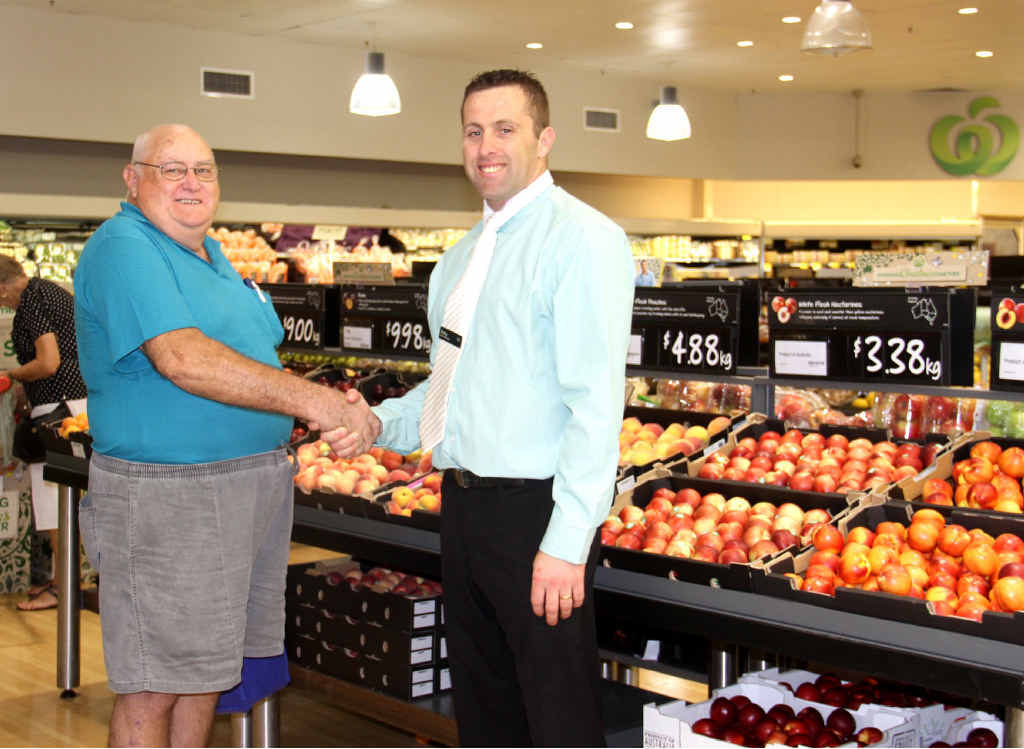 WINNER: Willows local Daryl Knowles won $10,000 worth of groceries in a state-wide Children's Hospital Foundation fundraiser.