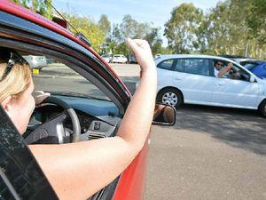 Bah humbug: Christmas brings on car park rage