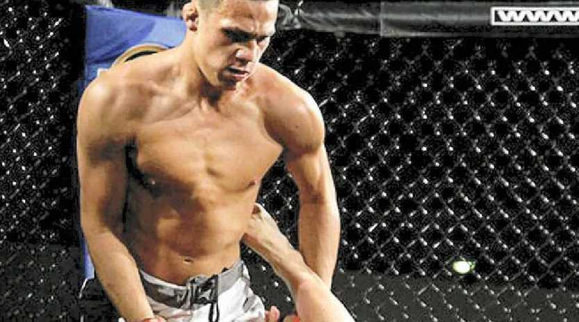 The Coast's Tyler Manawaroa gets the better of Jordan Ngawiti.