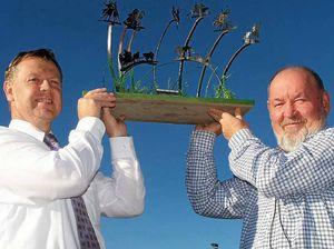 Warwick team upbeat for equine sculpture
