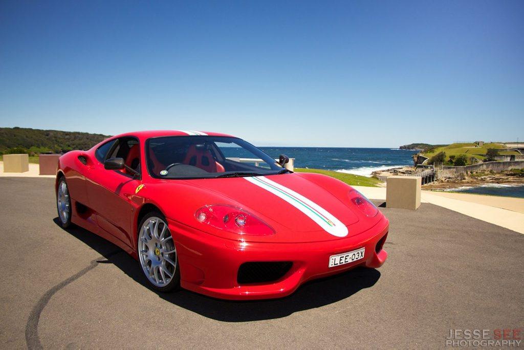 The Ferrari 360 Challenge Stradale.