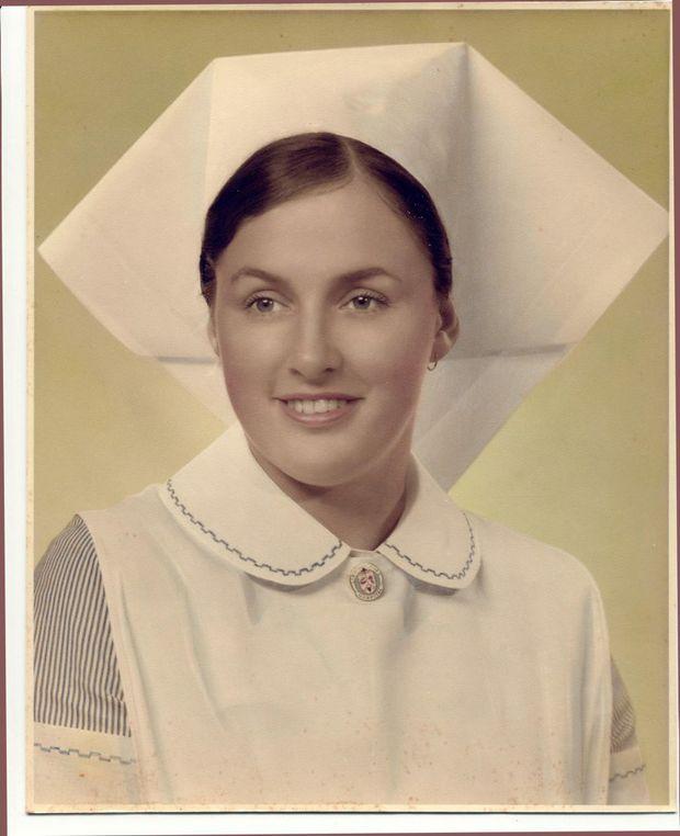 Helen Gibson (nee Ravenscroft), Lismore nurse, circa 1969. Photo Contributed