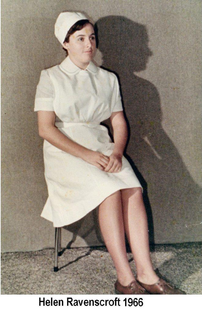 Helen Gibson (nee Ravenscroft), Lismore nurse, circa 1966. Photo Contributed