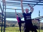 HANGING IN THERE: The obstacle course has been designed to challenge physical and mental strength.