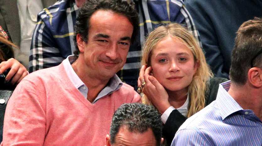 Mary-Kate Olsen and Olivier Sarkozy.