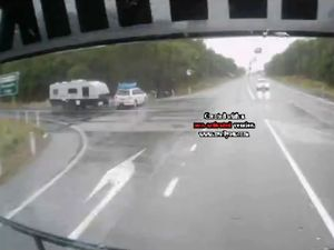 Truck cam shows serious crash on Pacific Highway