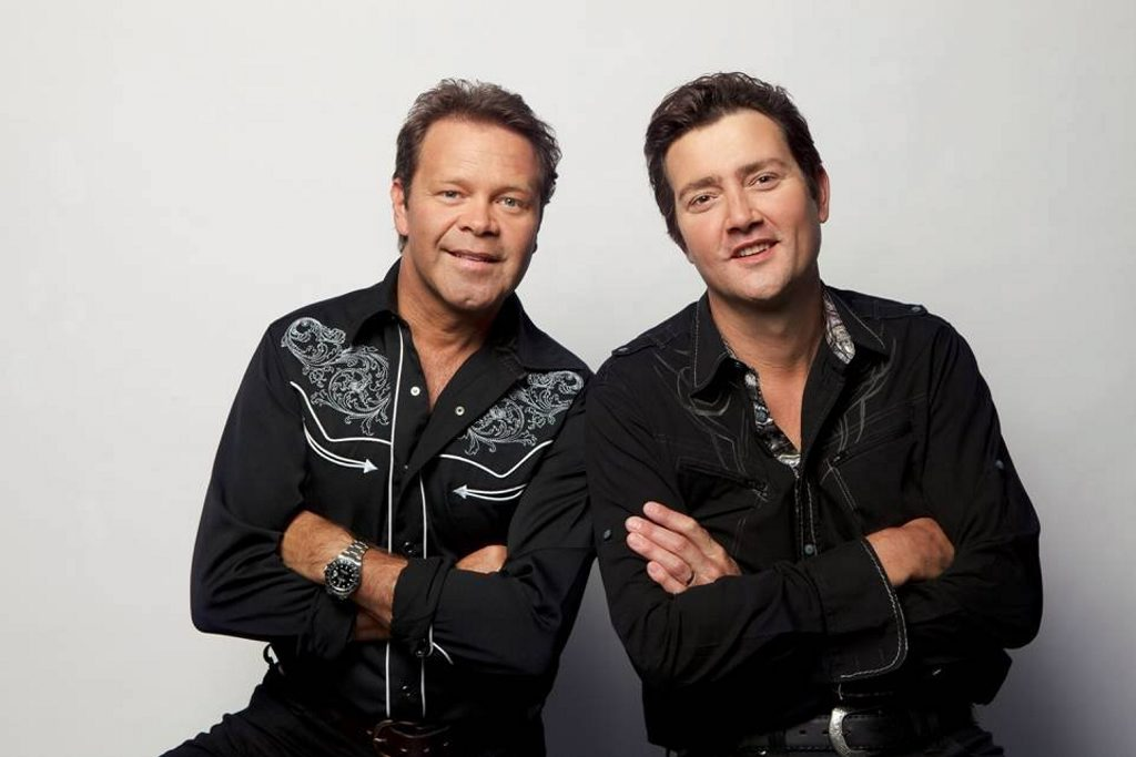 Troy Cassar-Daley and Adam Harvey.