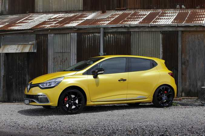 The Renault Clio RS.