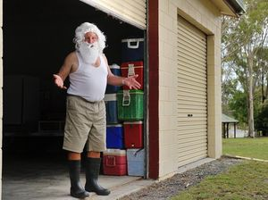 Christmas mystery means Santa has to wear second best suit