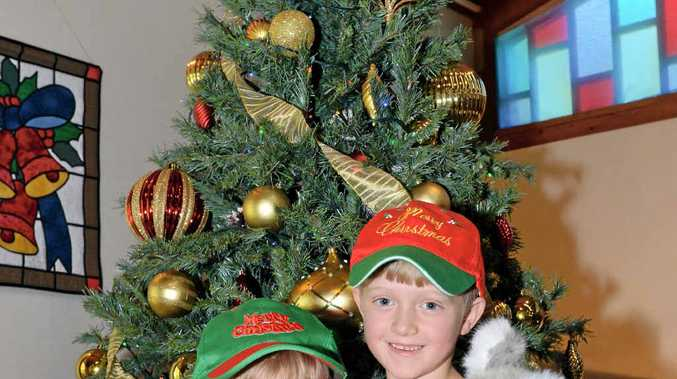 The McCallum brothers are ready for Maleny's Christmas Festival.